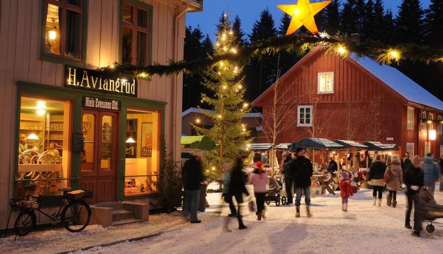 Norwegian Christmas.An Old Fashioned Norwegian Christmas Tales From The Fairies